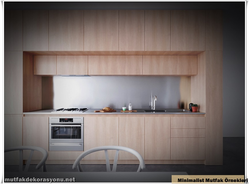 Minimalist Mutfak Örnekleri