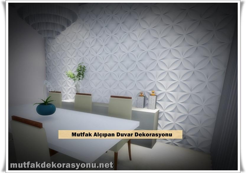 Mutfak Alçıpan Duvar Modelleri
