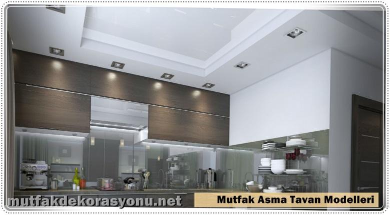 Mutfak Asma Tavan Modelleri