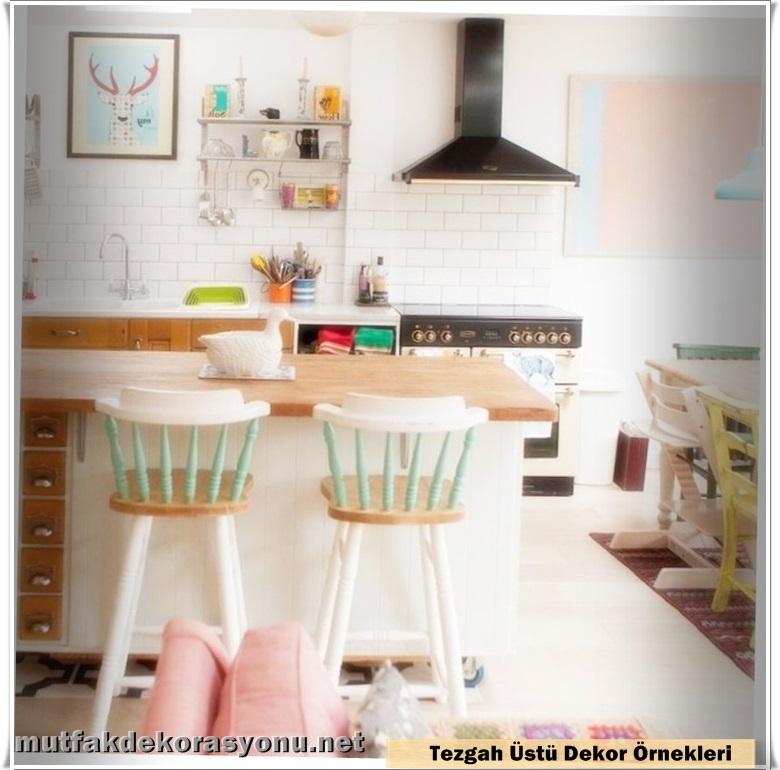 Mutfak Tezgah Üstü Dekorasyon