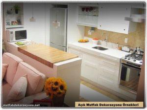 Açık Mutfak Modelleri Dekorasyonu 2021