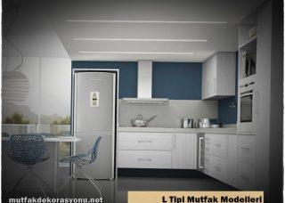 L Şeklinde Mutfak Modelleri