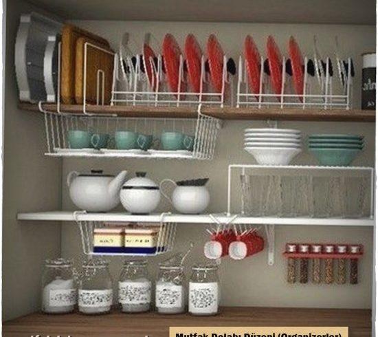 Mutfak Dolabı Düzeni Organizer