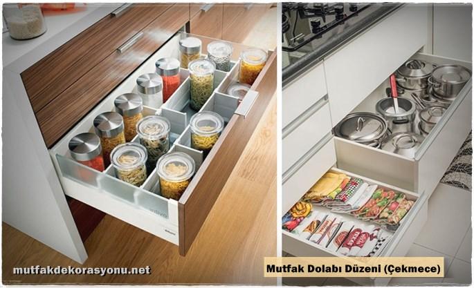 Mutfak Çekmece Düzeni